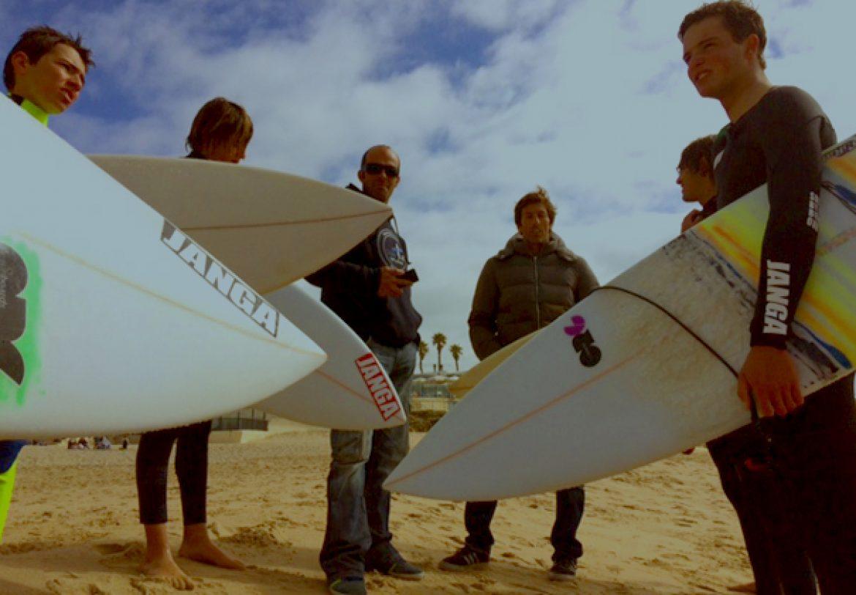Plano de evolução de surf