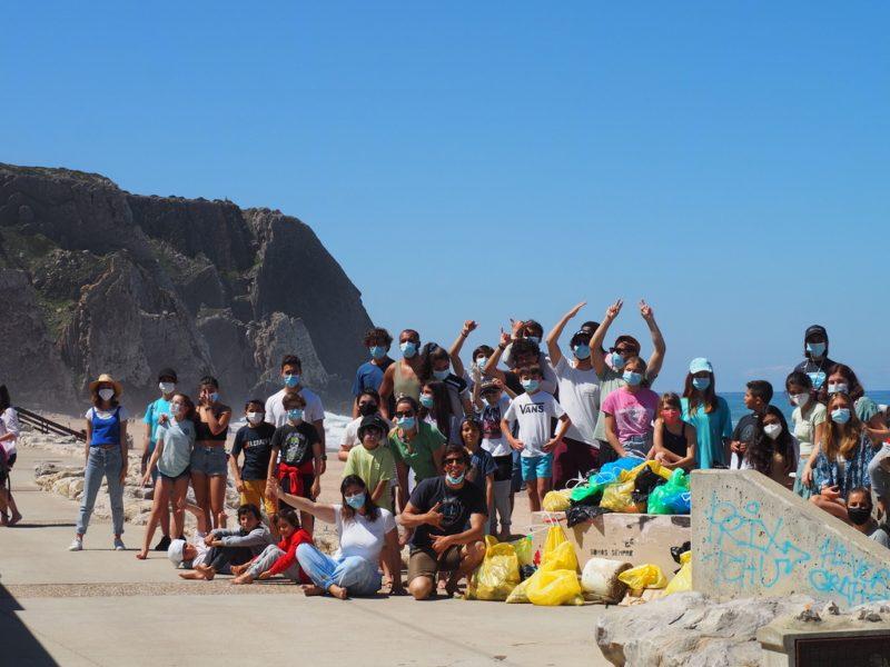 Beach Clean up at Praia Grande – Sintra